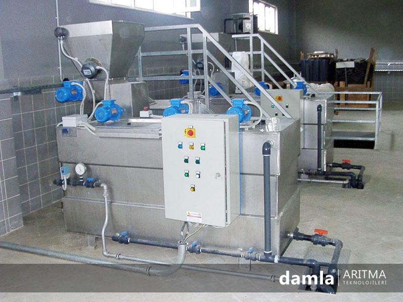 otomatik poli hazırlama tankı