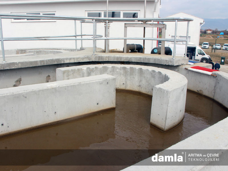 biyolojik su arıtma tesisi